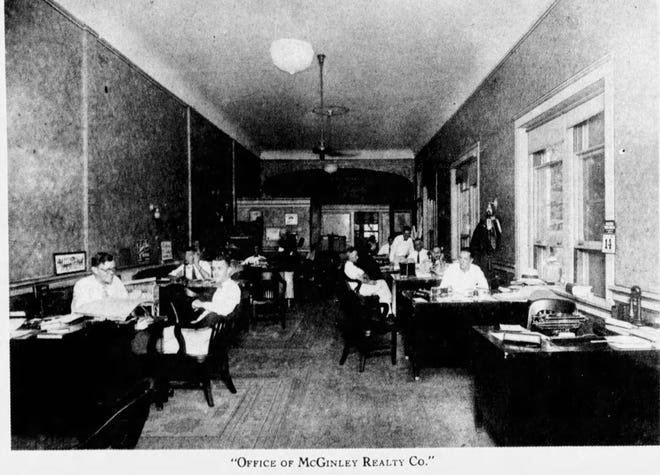 In the early 20th century, Harry McGinley's real estate operations helped grow young West Palm Beach. PALM BEACH POST ARCHIVES