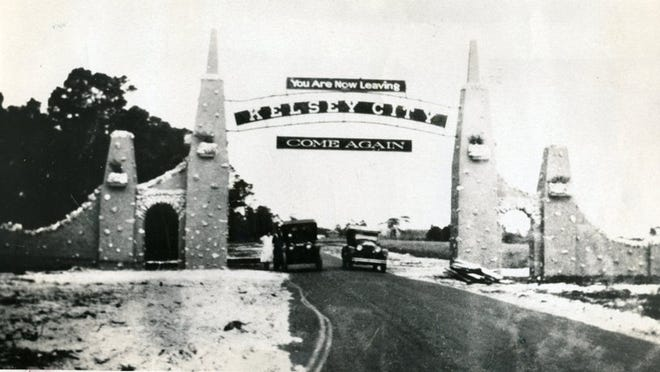 What we now know as Lake Park was Kelsey City in the 1920s, named for Boston businessman Harry Kelsey. The arch at the city's entrance is long gone.