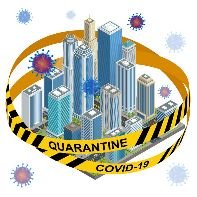 Many states now have quarantine laws that don't distinguish between visitors and residents.