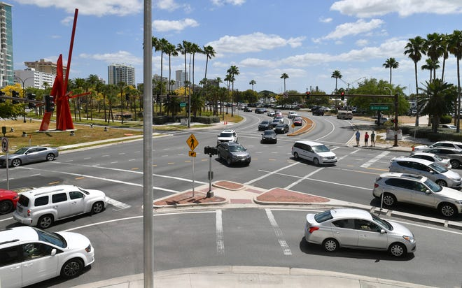 The city of Sarasota will fork over more than twice as much money than originally expected to overhaul a water pipeline connected to the planned Gulfstream roundabout.