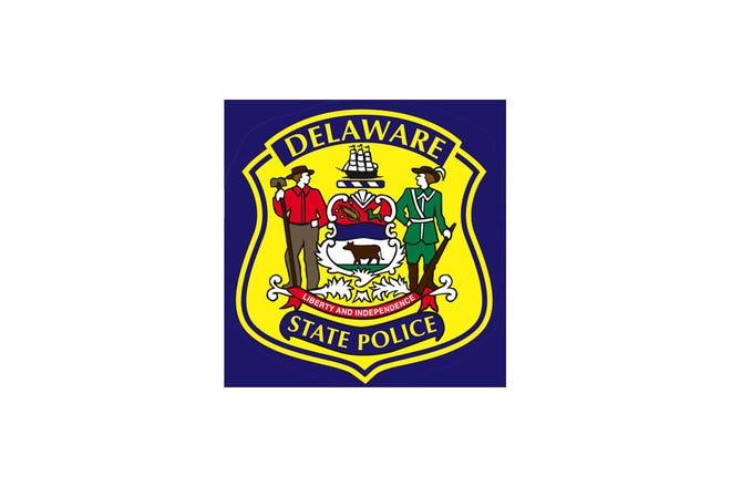 File photo of The Delaware State Police logo.
