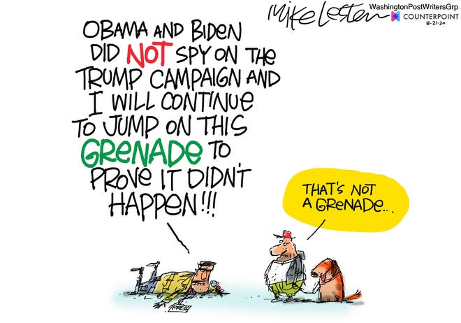 Wednesday Editorial Cartoon