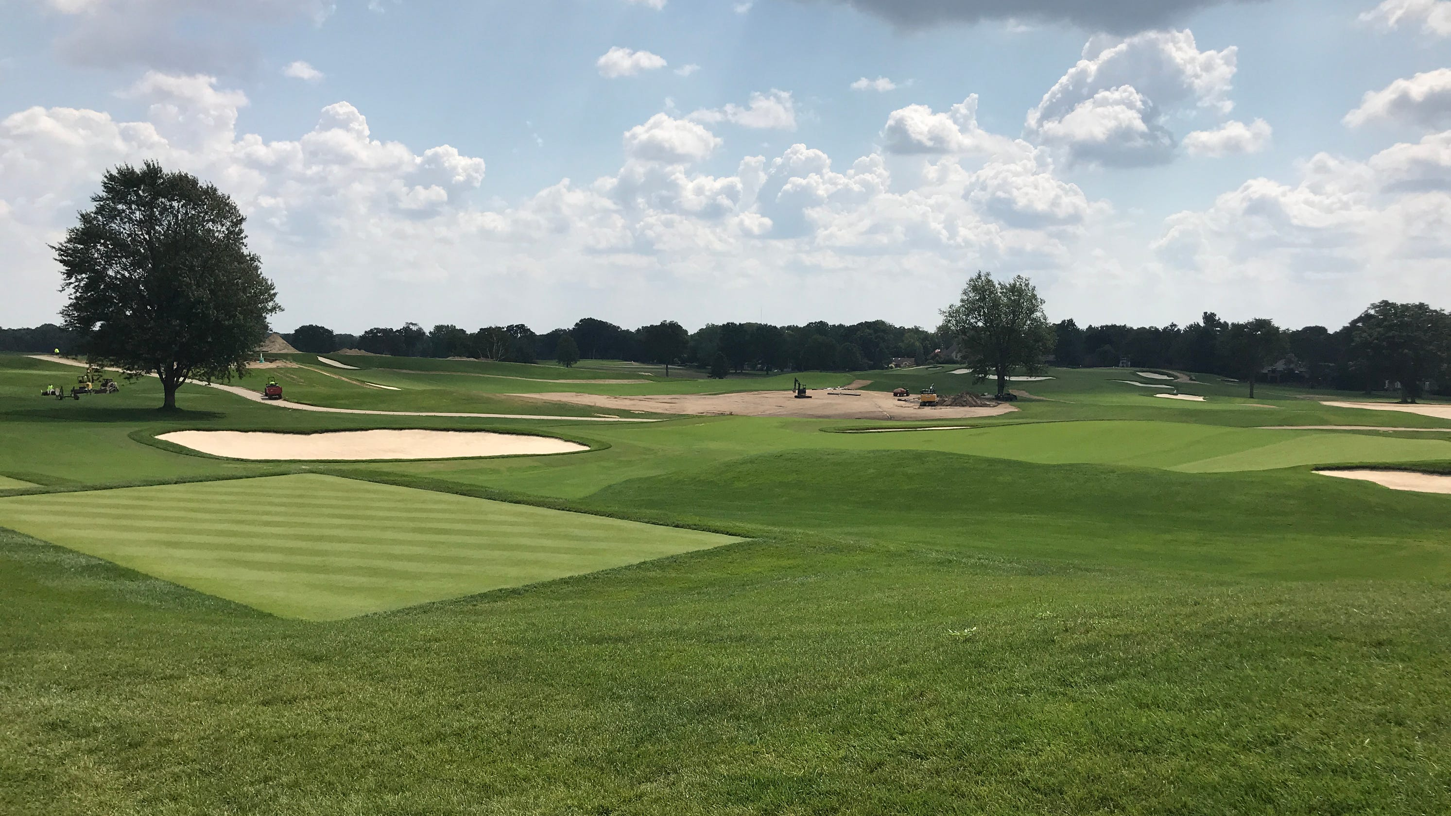 Renowned Oakland Hills golf course ready to host another U.S. Open with improved greens