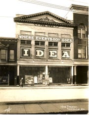 The Idea Theatre opened in 1905 and was a popular venue for vaudeville performances.