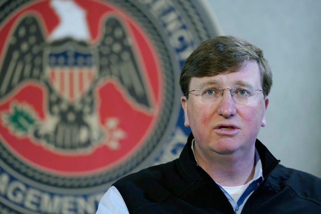 Mississippi Gov. Tate Reeves has seen his approval ratings tied to the pandemic slip significantly in recent months, a series of surveys shows.