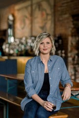 Marianne Eaves, master blender of Sweetens Cove, a new Tennessee bourbon that's backed by Peyton Manning and Andy Roddick.