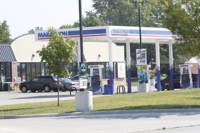 Derrick Reccord Jr. 26, was critically wounded when a man he was speaking with on Saturday afternoon shot him. The men were outside of  the Marathon gas station at Twyckenham Boulevard and Poland Hill Road.