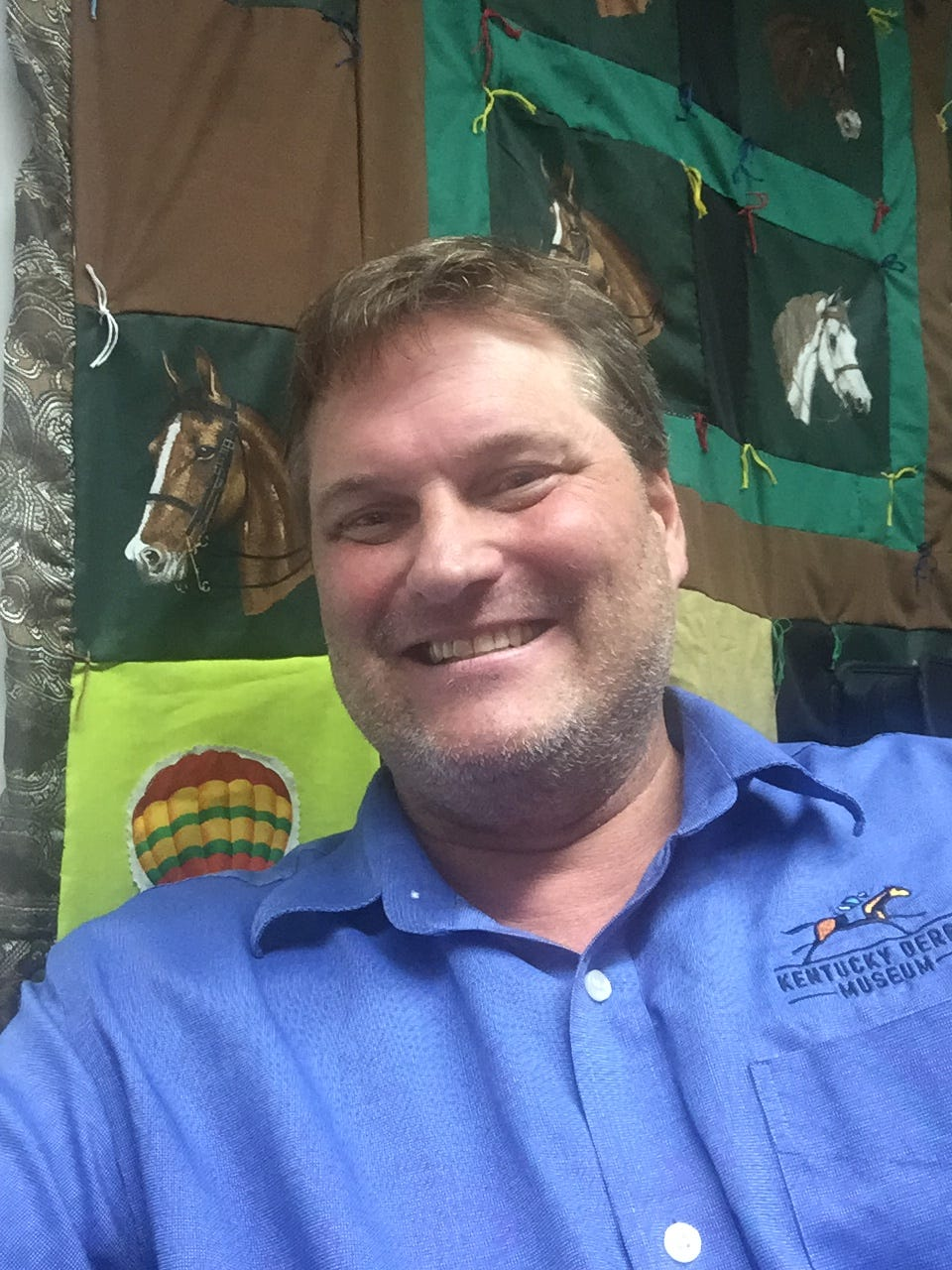 Ronnie Dreistadt, the manager of education services at the Kentucky Derby Museum, is the resident expert on all things spooky and haunted at Churchill Downs.