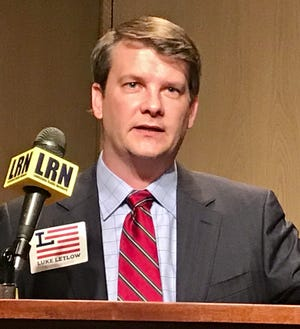 Luke Letlow, R-Start, is pictured here on July 22, 2020 after qualifying for the Louisiana 5th Congressional District race.
