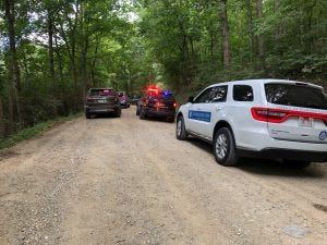 A Newark man, Alexander Anderson, 29, was shot and killed on Zion Road in northern Guernsey County Sunday morning. The shooting remains under investigation by the Guernsey County Sheriff's Office with assistance from the Ohio Bureau of Criminal Identification and Investigation.