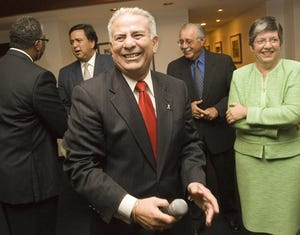 Ronnie Lopez is seen in an Aug. 29, 2006, photo. One of the top powerbrokers in Democratic politics in Phoenix, Lopez has died at 73.