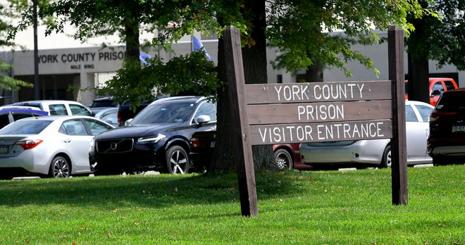 York County Prison in Springettsbury Township Monday, August, 24, 2020. Bill Kalina photo