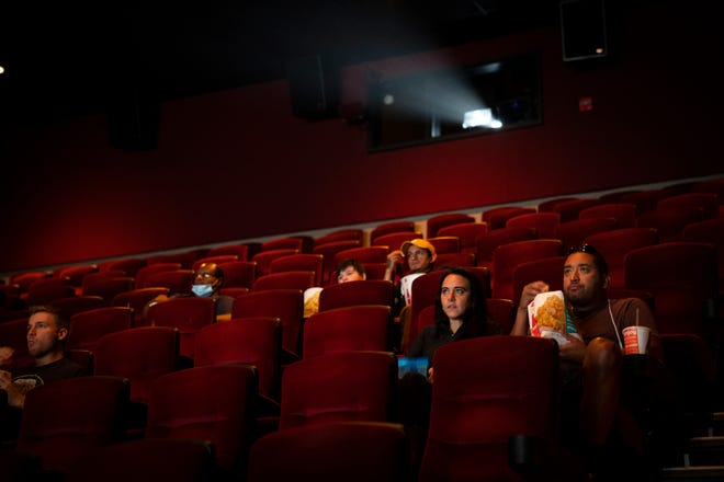 AMC Theatres reopened Thursday with shows in Chicago.