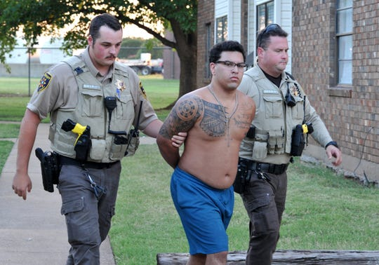 Wichita County Deputies arrested Joshua Christoper Ray Cook the afternoon of Aug. 23 after he allegedly fled house arrest that morning.