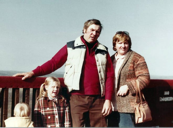 Russell, Rebecca, Bob and Susan 1980s