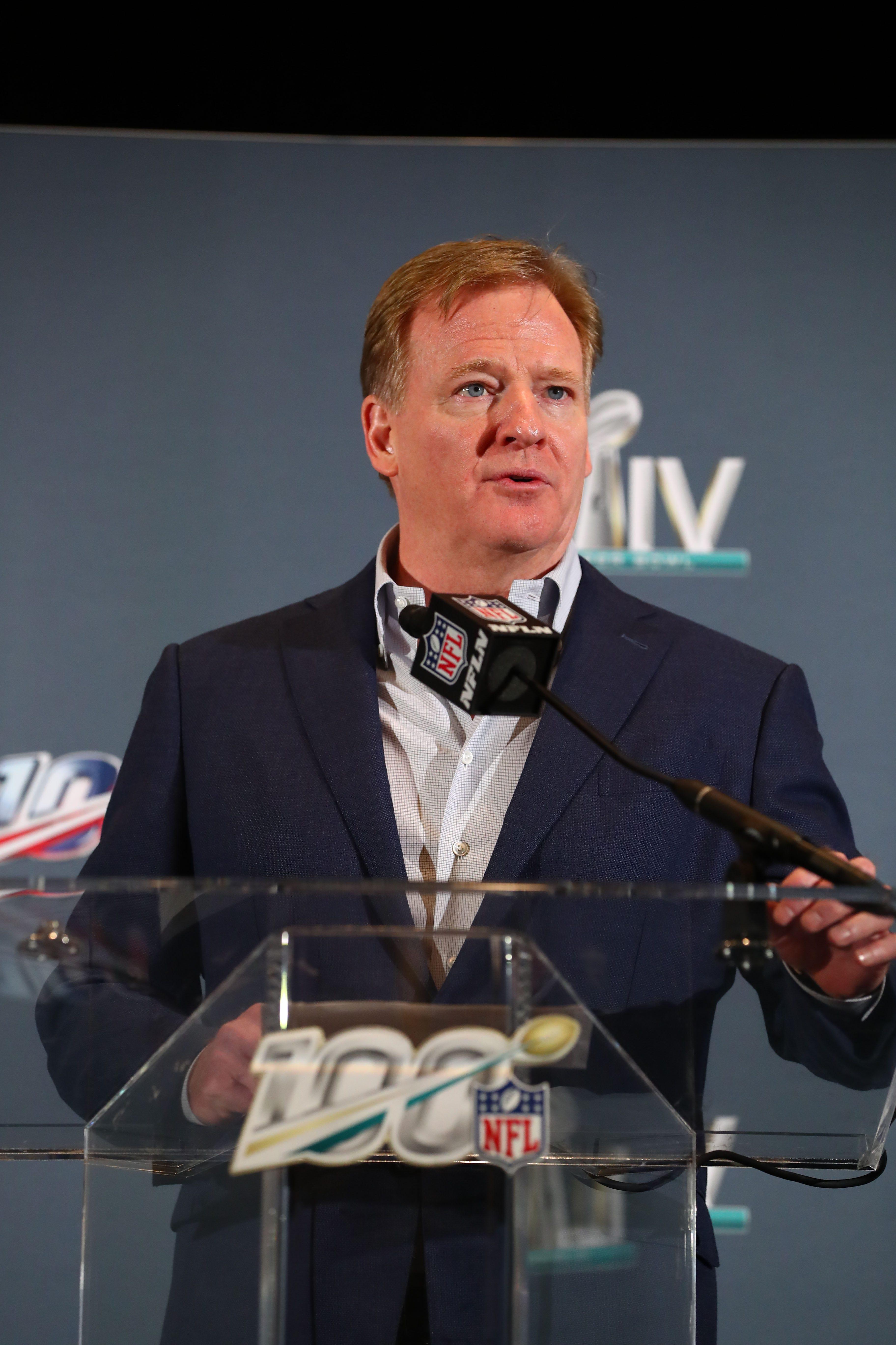 NFL Commissioner Roger Goodell s message for Colin Kaepernick:  I wish we had listened earlier