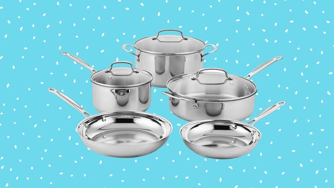 Cuisinart stainless steel cookware is gorgeous—and right now, you can actually get it on sale.