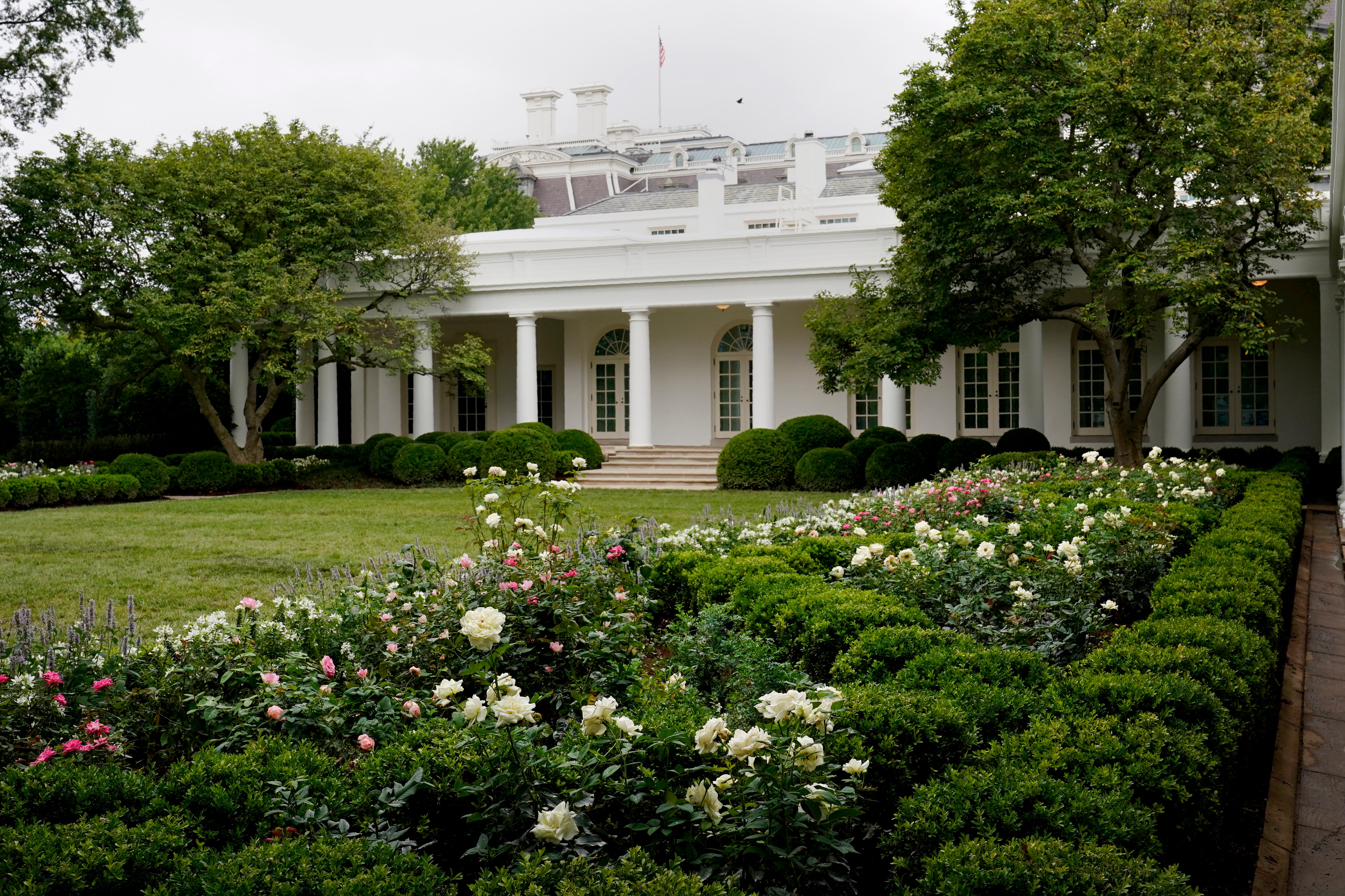 Melania Trump And The Rose Garden Renovations Leave It Dull And Pale