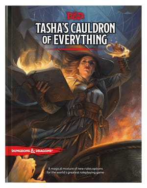 The cover for Tasha's Cauldron of Everything, a new D&D sourcebook set to release Nov. 17.