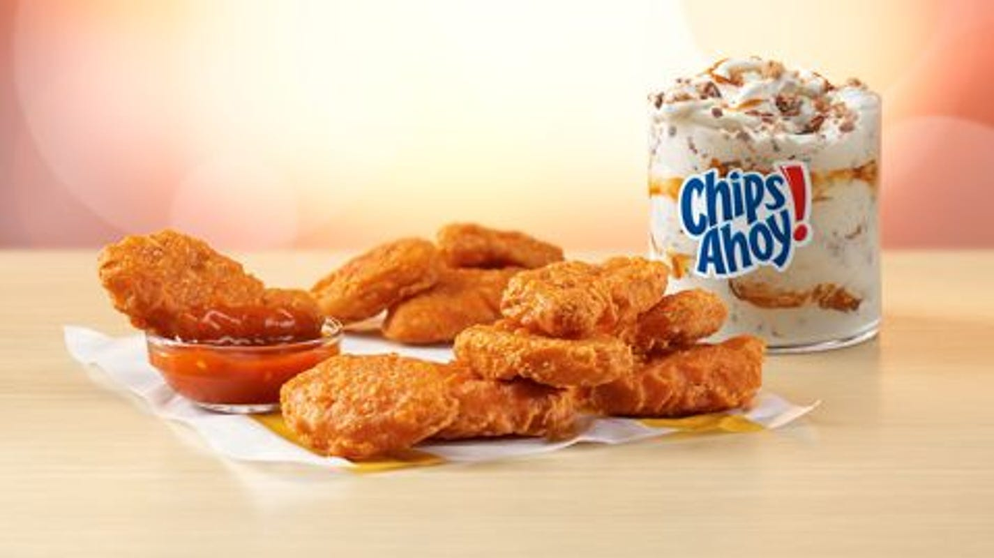 Free Spicy Chicken McNuggets: McDonald's offering 'Spicesurance' buy-o... image