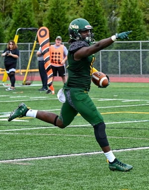 Former Delaware Valley University football standout Shaveiz Stewart, 24, died on Sunday. Stewart was an assistant coach for the Aggies in 2019.