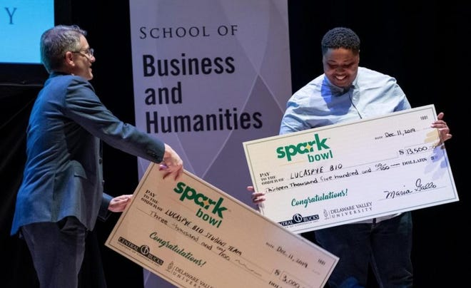 Last year, Tia Lyles-Williams, founder of LucasPye BIO, won first place at Spark Bowl, a competition held at Delaware Valley University where entrepreneurs competed for thousands of dollars in funding for their businesses. This year's event is happening in April.