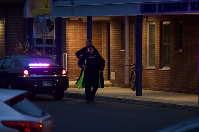 Police respond to a shooting in Belmont Square in Doylestown Borough on Nov. 7.