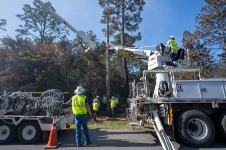 Gulf Power lineworkers have had a busy year already, responding to tornadoes, tropical storms, even wildfires. The company celebrates the state Lineworker Appreciation Day on Wednesday, Aug. 26.