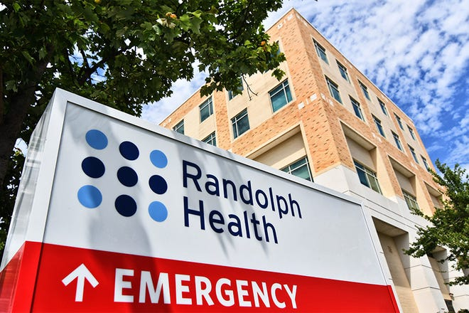 Randolph Health transfers patients with severe COVID-19 symptoms to hospitals better equipped with the means to provide those patients with the long-term care they may need.