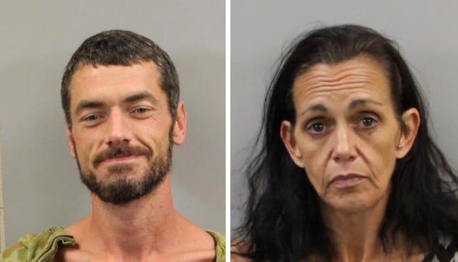Scottie Lee Parnell, 40, and Lisa Haynes Greene, 46.