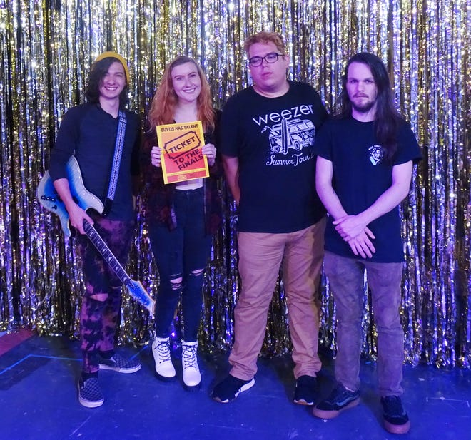 "Not Enough Space, an alternative rock band, played ""That's What you Get"" to get the nod from the judges and a Golden Ticket to advance to the finals Saturday."