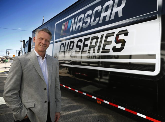 NASCAR president Steve Phelps has been appointed to the organization's board of directors.
