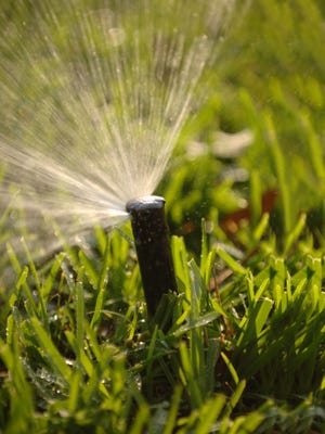 We are in one of the wettest times of the year, so watch to make sure your sprinklers aren't running when they aren't needed.