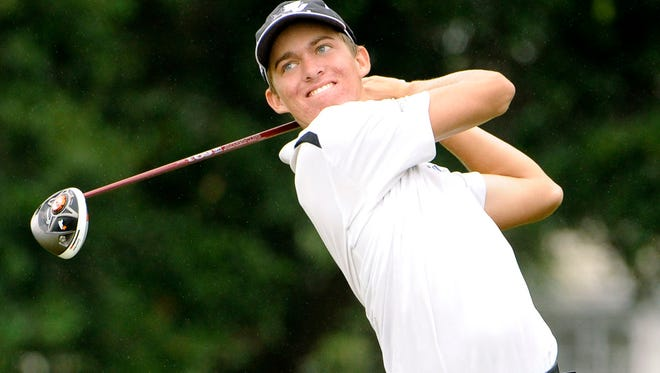 Taylor Funk led the 2013 Ponte Vedra High boys golf team by winning the regional and state individual titles.