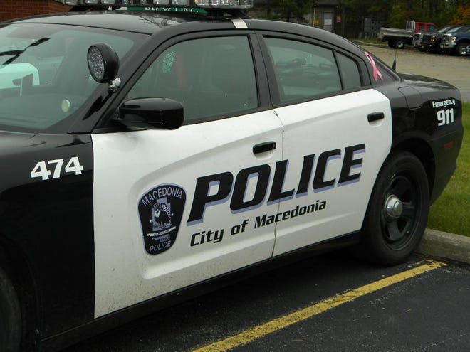 Macedonia Police cruiser