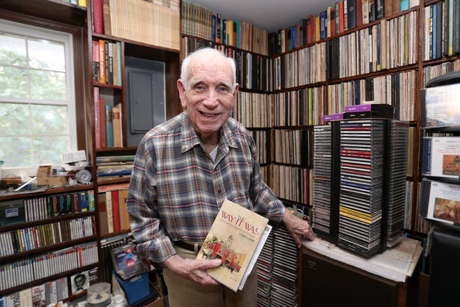 David Cook, an author, historian and former Star-Banner employee, died at his home in August 2020. He was 93. [FILE]