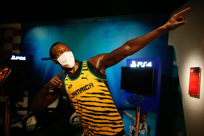 Retired Jamaican Olympic champion sprinter Usain Bolt has tested positive for COVID-19. [AP Photo/Emrah Gurel]