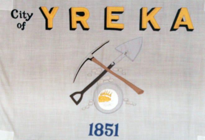 Yreka's flag