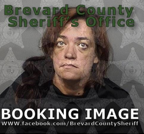Cecilia Poteet, 44, was charged with false verification of ownership and dealing stolen property.