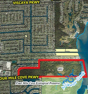 Lee County's Conservation 20/20 program will buy 193 acres off Four Mile Cove Parkway, preserving Caloosahatchee riverfront area on a parcel that developers were considering 400 homes.