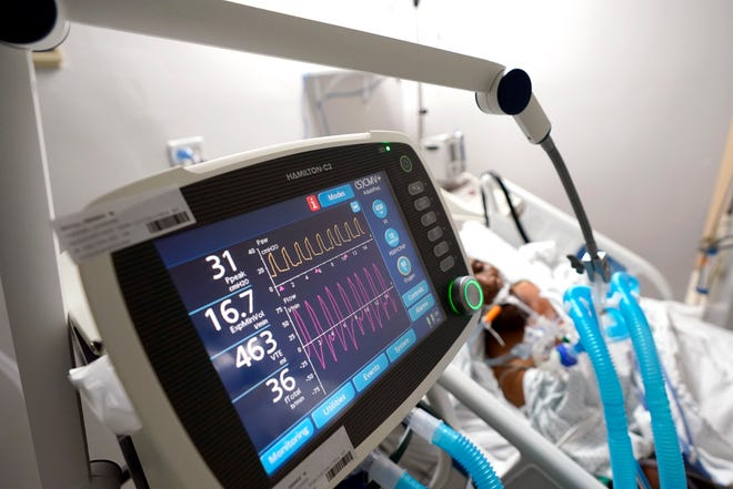 File - Warrington biotechnology company Windtree Therapeutics is planning to launch phase 2 trials on a drug it believes can help reduce the use of ventilators in patients with COVID-19 and other acute lung illnesses.