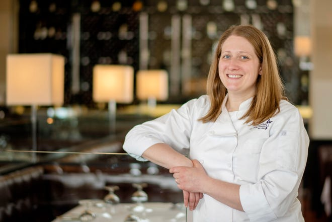 Amanda Langler is the executive chef at Mr. B's – A Bartolotta Steakhouse.