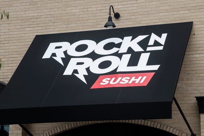 Rock n Roll Sushi restaurant on Dexter Ave. in Montgomery, Ala., on Tuesday, Aug. 25, 2020.
