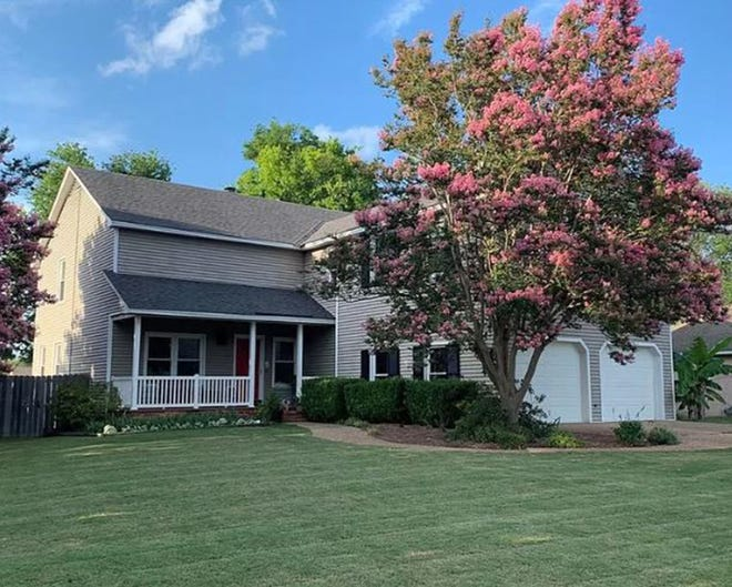 One Hillwood home is for sale for $279,900 and provides four bedrooms and three and a half bathrooms within 3,094 square feet of living space.