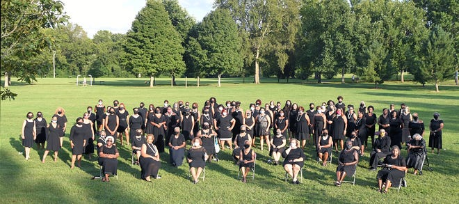 100 Black Women of Williamson County has formed an informal group to showcase women in business and public service. The group met at Pinkerton Park in Franklin on Monday, August 24, 2020.