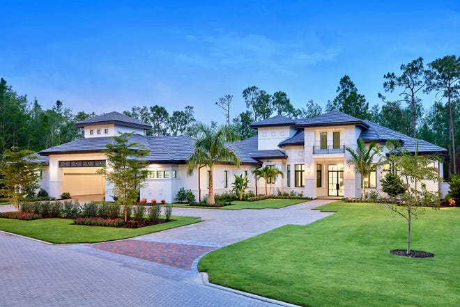 The Cortona II, by Stock Signature Homes, was sold within three weeks of being completed.