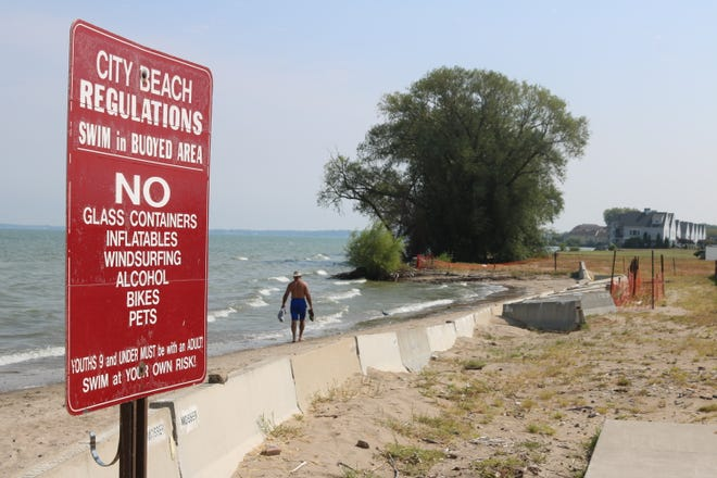 Port Clinton officials are appropriating $60,000 for the reconstruction of the city beach, which has been damaged by significant erosion in recent years.