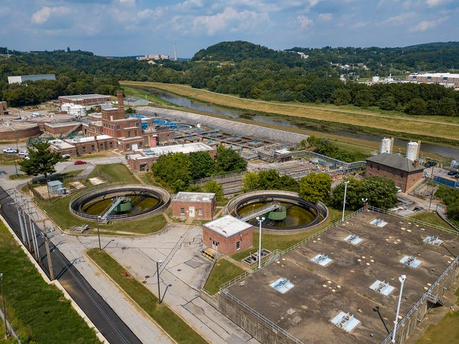 The City of York's wastewater treatment plant.Tuesday, August 25, 2020John A. Pavoncello photo