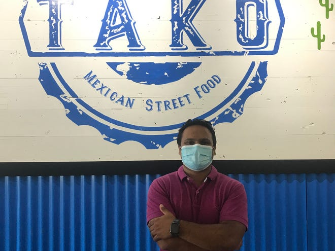 Jeevan Pullan owns both Tako Mexican in Yonkers and Vega Mexican Cuisine in Hartsdale.