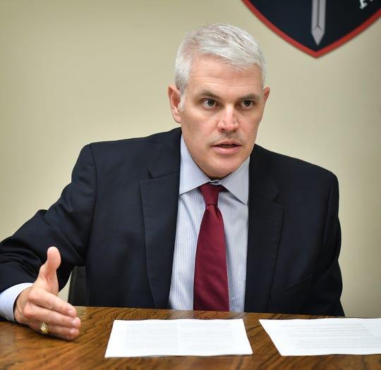 John Gillespie is the Wichita County District Attorney.